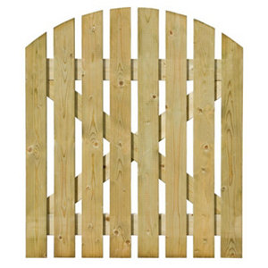 Image of Grange Timber Domed Gate (H)1.05m (W)0.9m