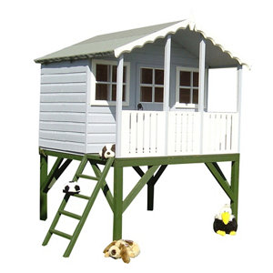 Shire 6x6 Stork Apex Shiplap Wooden Playhouse