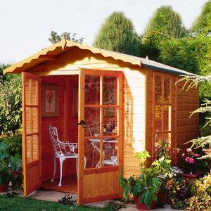 Shire Buckingham 7x7 Apex Shiplap Wooden Summer house