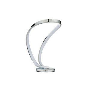 Inlight PRISM Mirrored Chrome effect LED Table lamp