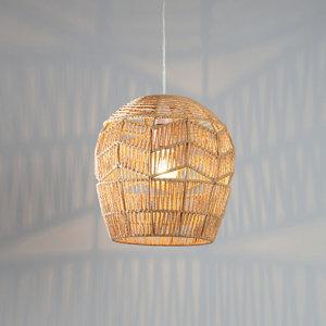 Image of Carpo Rattan Light shade (D)250mm