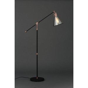 Inlight Dafyd Cone Smoke Copper effect Floor lamp