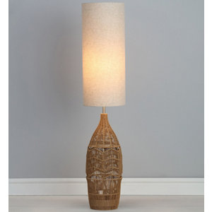 Image of Carpo Rattan Floor light