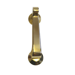Image of The House Nameplate Company Brass effect Metal Door knocker