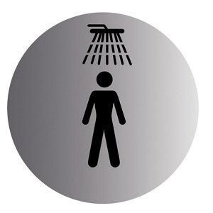 Image of Shower Advisory sign