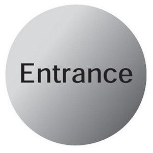 Image of Entrance Advisory sign