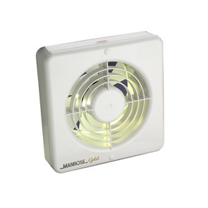 Image of Manrose 22693 Kitchen Extractor fan (Dia)150mm