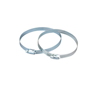 Image of Manrose Steel Clip-on Hose clip Pack of 2
