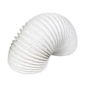 Image of Manrose White PVC Flexible Ducting hose (L)1m (Dia)100mm