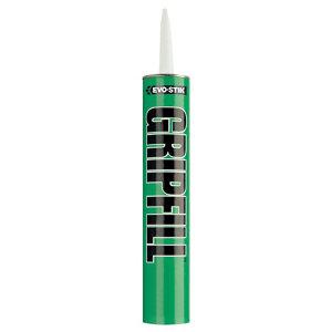 Image of Evo-Stik Gripfill Solvent-based Grey Grab adhesive 350ml