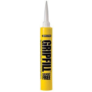 Image of Evo-Stik Gripfill Solvent-free Grey Grab adhesive 350ml