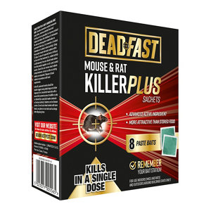 Image of Deadfast Rodents Rodenticide Pack of 8