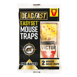 Image of Deadfast Easy set Mouse trap Pack of 2