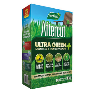 Image of Aftercut Ultra green + Lawn treatment 100m² 3.5kg