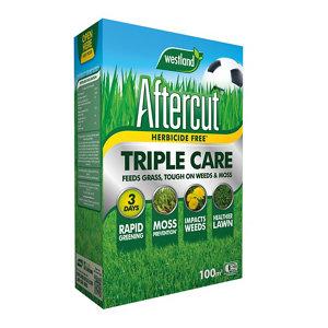 Image of Aftercut Triple care Lawn treatment 100m² 3.5kg