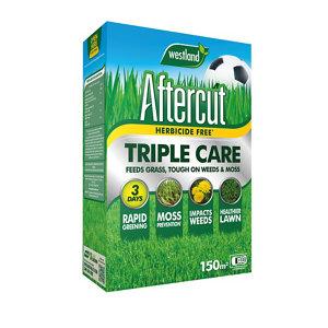 Image of Aftercut Triple care Lawn treatment 150m² 5.25kg
