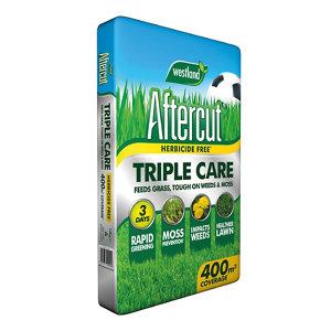 Image of Aftercut Triple care Lawn treatment 400m² 14kg