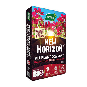 Image of New Horizon All plant Peat-free Multi-purpose Compost 50L
