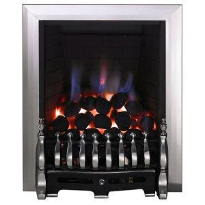 Image of Focal Point Blenheim Black Chrome effect Gas Fire