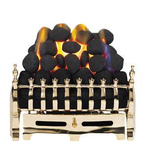 Image of Focal Point Blenheim Brass effect Gas Fire tray