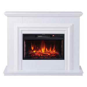 Image of Focal Point Amersham White Electric Fire Suite