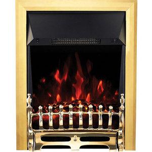 Image of Focal Point Blenheim Brass effect Electric Fire