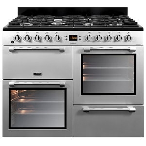 Image of Leisure Cookmaster CK100F232S Freestanding Dual fuel Range cooker with Gas Hob