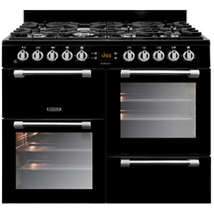 Image of Leisure Cookmaster CK100G232K Freestanding Gas Range cooker with Gas Hob