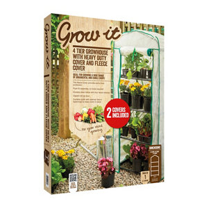 Image of Grow It Steel 4 Tier Growhouse