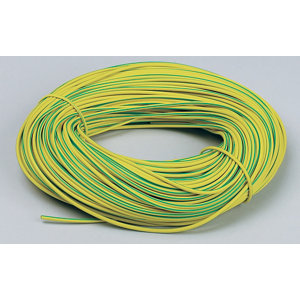 Image of CED Green & yellow 3mm Cable sleeving 100000m