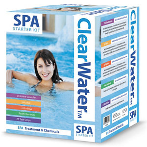 Image of Clearwater Chemical spa kit