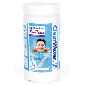 Image of Clearwater Chlorine tablets 1000g