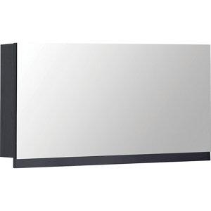 Image of Cooke & Lewis Ardesio Matt Indigo Single door Mirrored Cabinet (W)750mm