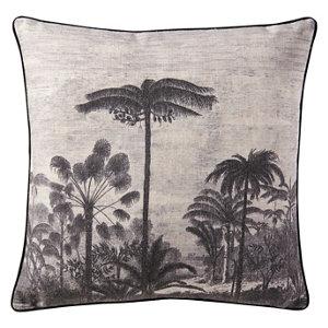 Image of Amidase Tree Black Cushion