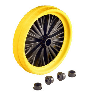 Image of Walsall Puncture-proof Wheel (Dia)350mm (W)80mm