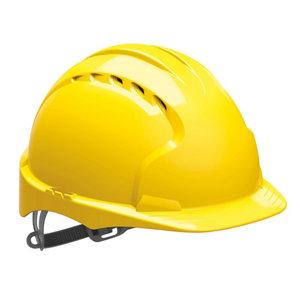 Image of JSP Yellow Invincible® EVO®2 Safety helmet
