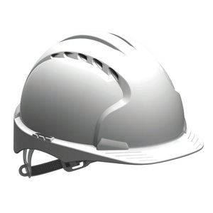 Image of JSP White Evolite Safety helmet