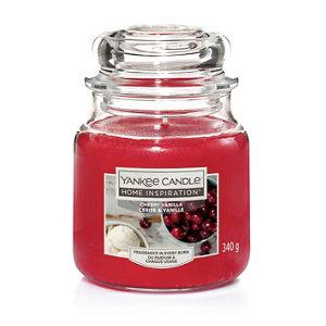 Image of Yankee Candle Cherry Vanilla Candle Medium