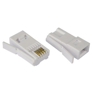 Image of Tristar BT 431A Telephone adaptor Pack of 10