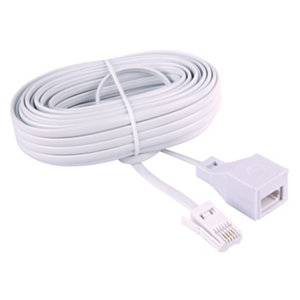 Image of Tristar Telephone extension lead 10m