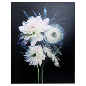 Image of Arthouse Spring bouquet Multicolour Canvas art (H)900mm (W)700mm