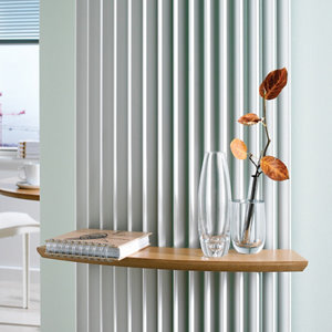 Image of Jaga Beech effect Radiator Shelf (L)480mm (D)100mm