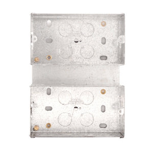 Image of British General Steel Double Mounting box