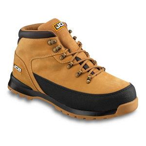Image of JCB 3CX Honey Safety boots Size 6