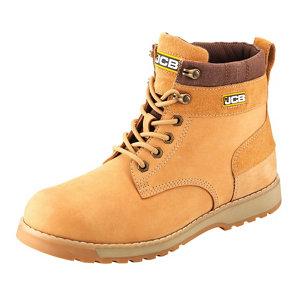 Image of JCB 5CX Honey Safety boots Size 11