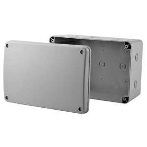 Image of Diall Grey Junction box 180mm