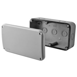 Image of Diall Grey 30A Junction box 85mm