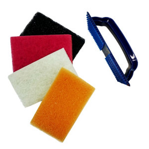 Image of Diall 5 piece Tile Cleaner Set