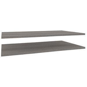 Image of Darwin Modular Grey oak effect Internal Shelf kit (W)1000mm (D)566mm Pack of 2