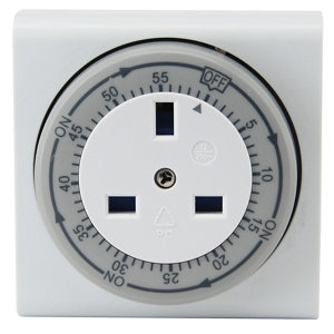 Image of Diall 1 hour Mechanical Timer